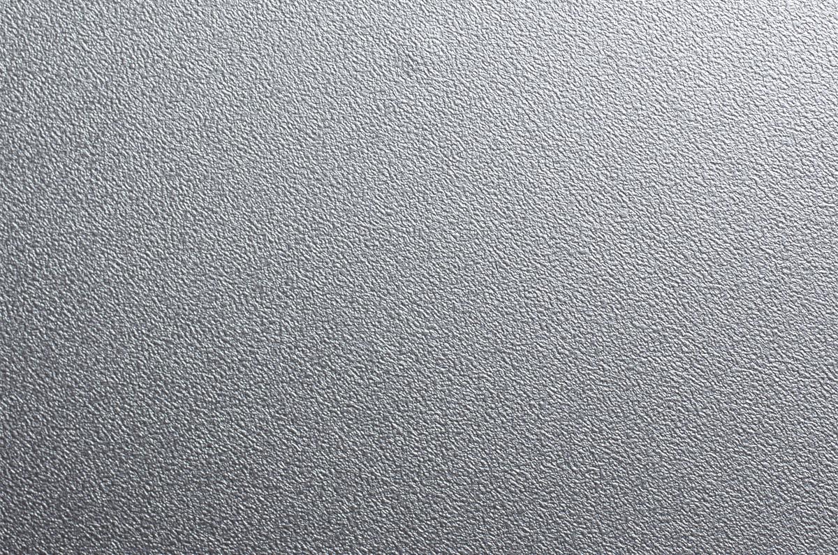 Metalizados decorativos plata efecto martillado for Papel de pared gris