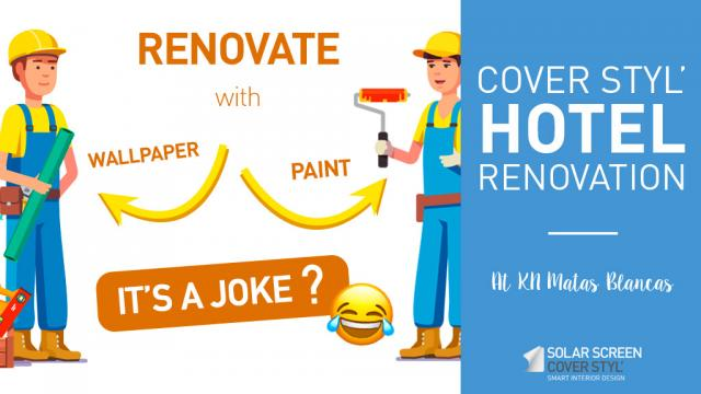 Renovate your hotel with Cover Styl'® adhesive coverings -
