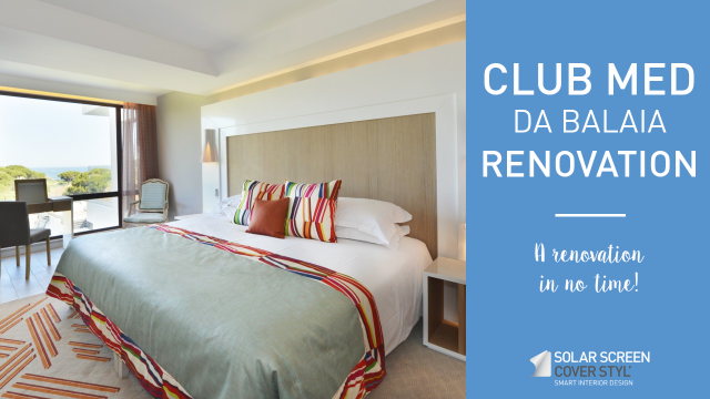 Club Med hotel renovation with Cover Styl'® adhesive coverings -