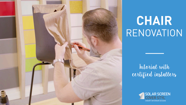 How to renovate a chair with Cover Styl'® adhesive covering? -