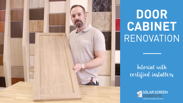 How to renovate a door cabinet with Cover Styl'® adhesive coverings? -