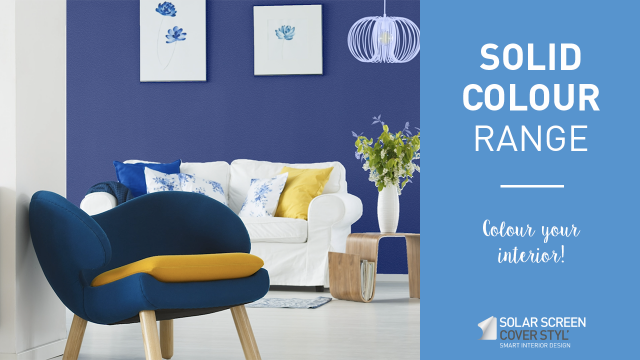 Cover Styl'® solid colour range: colour your interior! -
