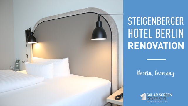 Steigenberger hotel Berlin renovation with Cover Styl'® adhesive coverings -