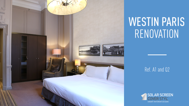 The Westin Paris hotel renovation with Cover Styl' adhesive films -