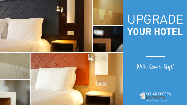 Upgrade your hotel with Cover Styl'® adhesive coverings -