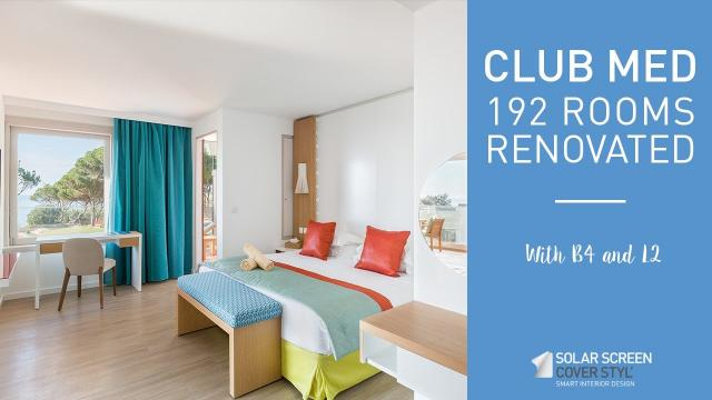 Club Med: 192 rooms renovated with Cover Styl'® vinyl films -