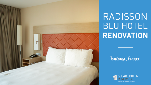 Radisson Blu Toulouse hotel renovation with Cover Styl'® - Hotel rooms -