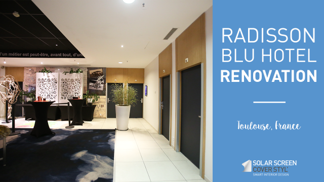 Radisson Blu Toulouse hotel renovation with Cover Styl'® - Meeting Room -