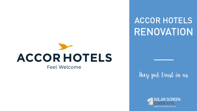 Accor hotels renovation with Cover Styl'® adhesive coverings -