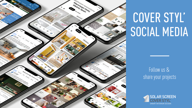How to follow Cover Styl' and share your achievements on social media -