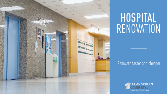 How to renovate hospitals faster and cheaper? -